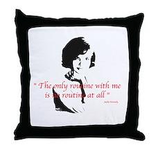 Jackie O Kennedy Throw Pillow
