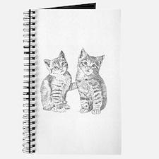 Two Tabby Kittens Journal