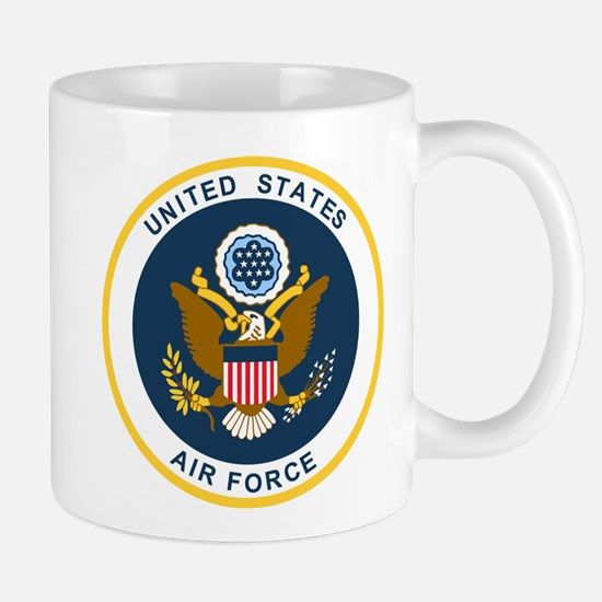 USAF-Patch-2 Stainless Steel Travel Mugs