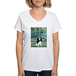Bridge / Tri Cavalier Women's V-Neck T-Shirt