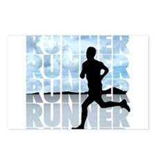 runner.png Postcards (Package of 8)