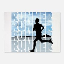 runner.png 5'x7'Area Rug