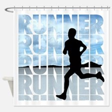 runner.png Shower Curtain