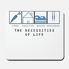 Four Necessities Mousepad
