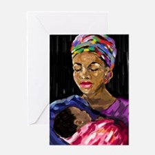 Mother and Child Greeting Cards