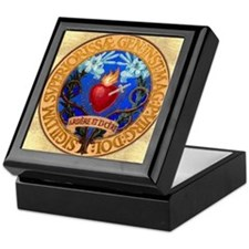 Immaculate Heart Emblem Keepsake Box