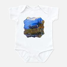 Deer Grazing Infant Bodysuit