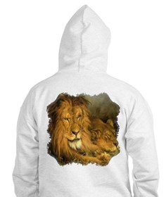 Lion and Lioness Hoodie