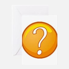 Question Mark Greeting Cards