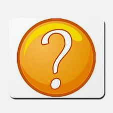 Question Mark Mousepad