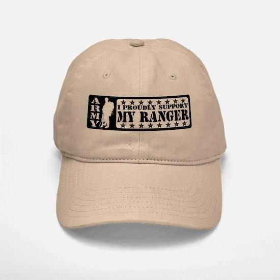Proudly Support Rngr - ARMY Baseball Baseball Cap