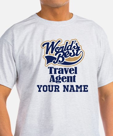 Travel Agent Personalized Gift T-Shirt