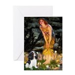 Fairies / Cavalier Greeting Card