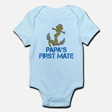 Papa First Mate Body Suit