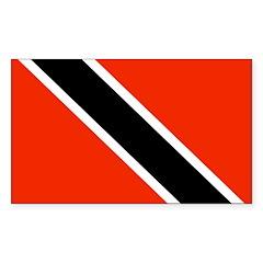 Trinidad and Tobago Rectangle Decal