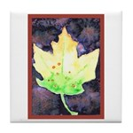 Fall Leaf Tile Coaster