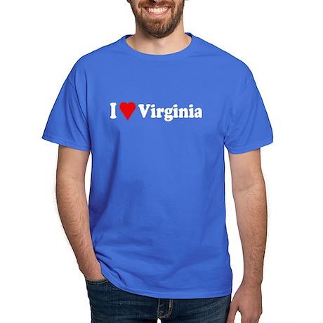 I Love Virginia Dark T-Shirt