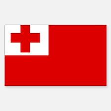 Tonga Rectangle Decal