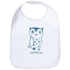 Wise Little Owl Bib