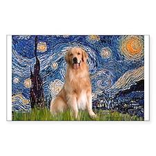 Starry Night / Golden Decal