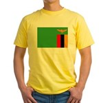 Zambia Yellow T-Shirt