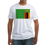 Zambia Fitted T-Shirt