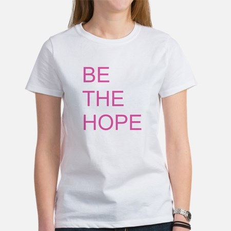 Be the Hope for a Cure Womens Classic T-Shirt