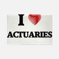 I love Actuaries Magnets