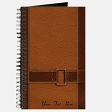 Personalized - Belted Leather *journal