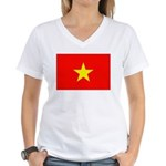 Viet Nam Women's V-Neck T-Shirt