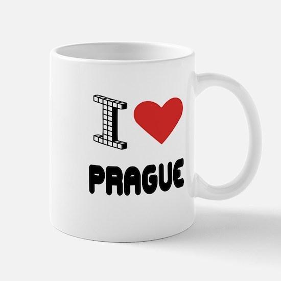 I Love Prague City Mug