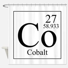 Cobalt Shower Curtain