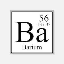 Barium Sticker