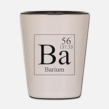Barium Shot Glass