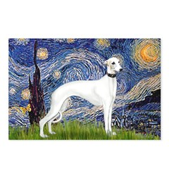 Starry Night / Whippet Postcards (Package of 8)