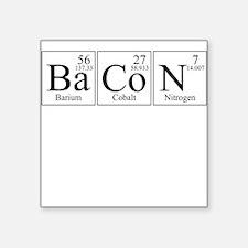 Barium Cobalt Nitrogen Bacon Sticker