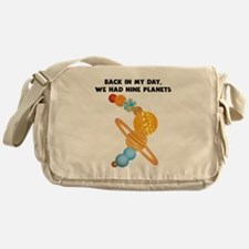 We Had Nine Planets Messenger Bag