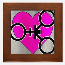 Cool Cuckold Framed Tile