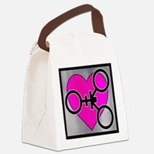 Unique Polyamory Canvas Lunch Bag