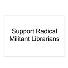 Support Radical Militant Librarians Postcards (Pac