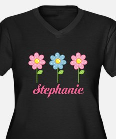 Polka Dot Daisies Mothers Day Plus Size T-Shirt