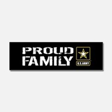 U.S. Army: Proud Family (Black) Car Magnet 10 x 3