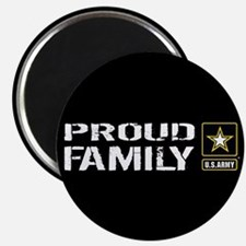 "U.S. Army: Proud Family (Bl 2.25"" Magnet (10 pack)"