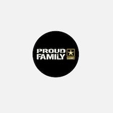 U.S. Army: Proud Family (Bla Mini Button (10 pack)