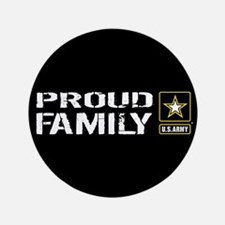 "U.S. Army: Proud Family (Bl 3.5"" Button (100 pack)"