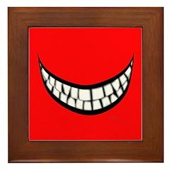 Big Smile Framed Tile