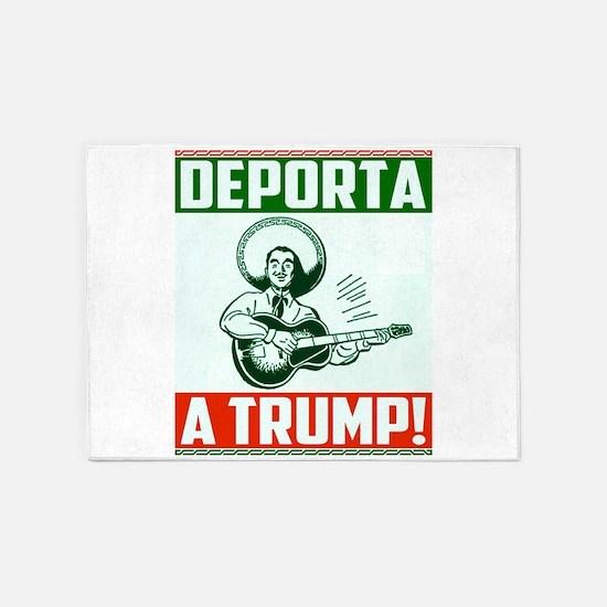 Deporta a Trump! 5'x7'Area Rug