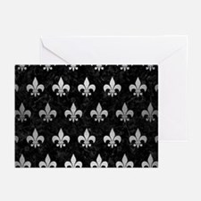 RYL1 BK MARBLE SILVER (R Greeting Cards (Pk of 10)