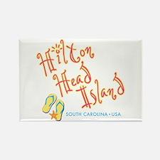 Hilton Head Island - Rectangle Magnet