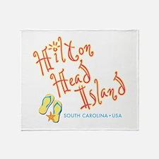 Hilton Head Island - Throw Blanket